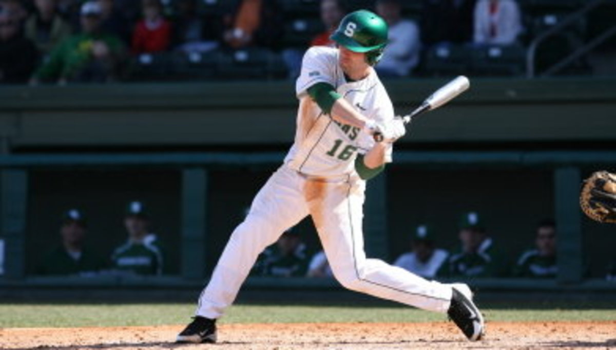 Spartan Baseball continues their winning ways, moving their record to 8-4.  Photo courtesy of MSU SID.