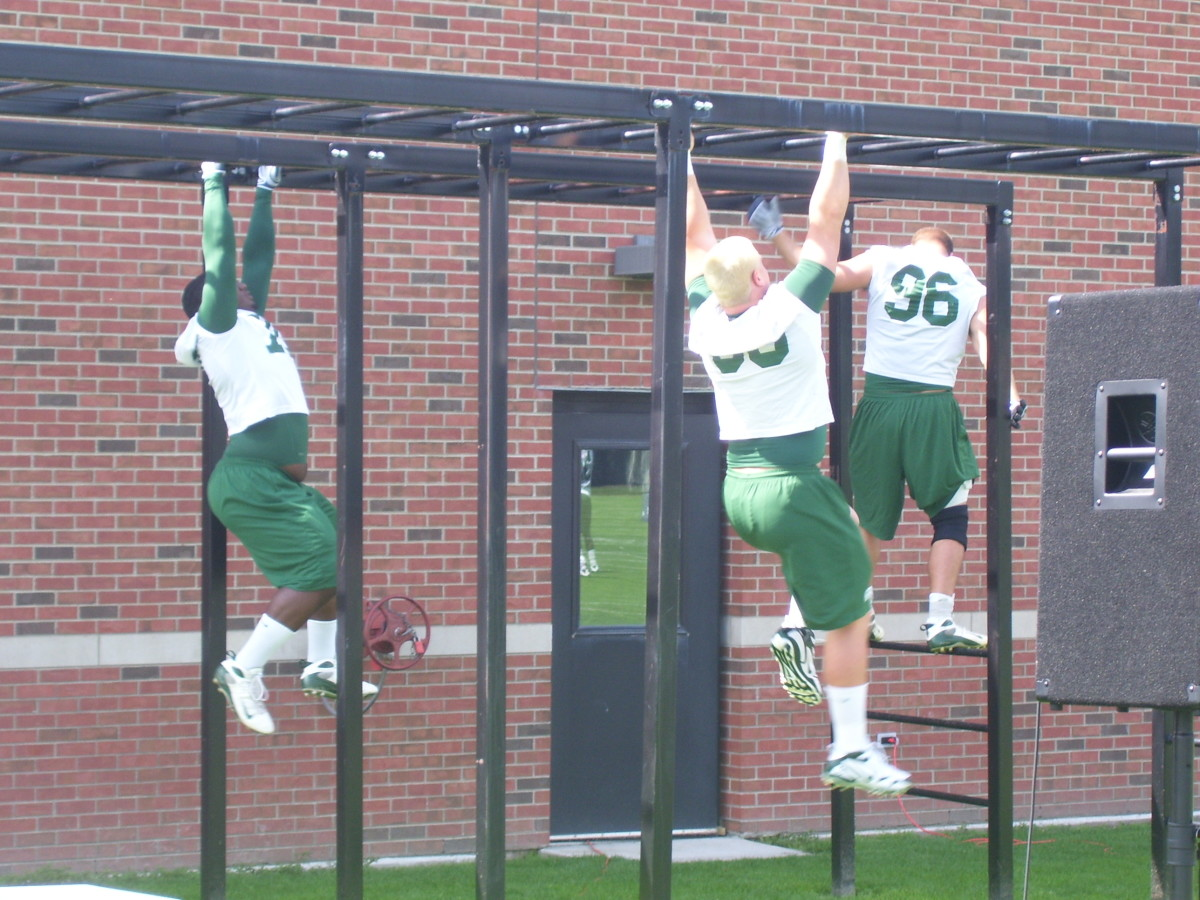 Ken Mannie will have his way with the Spartans this off season.