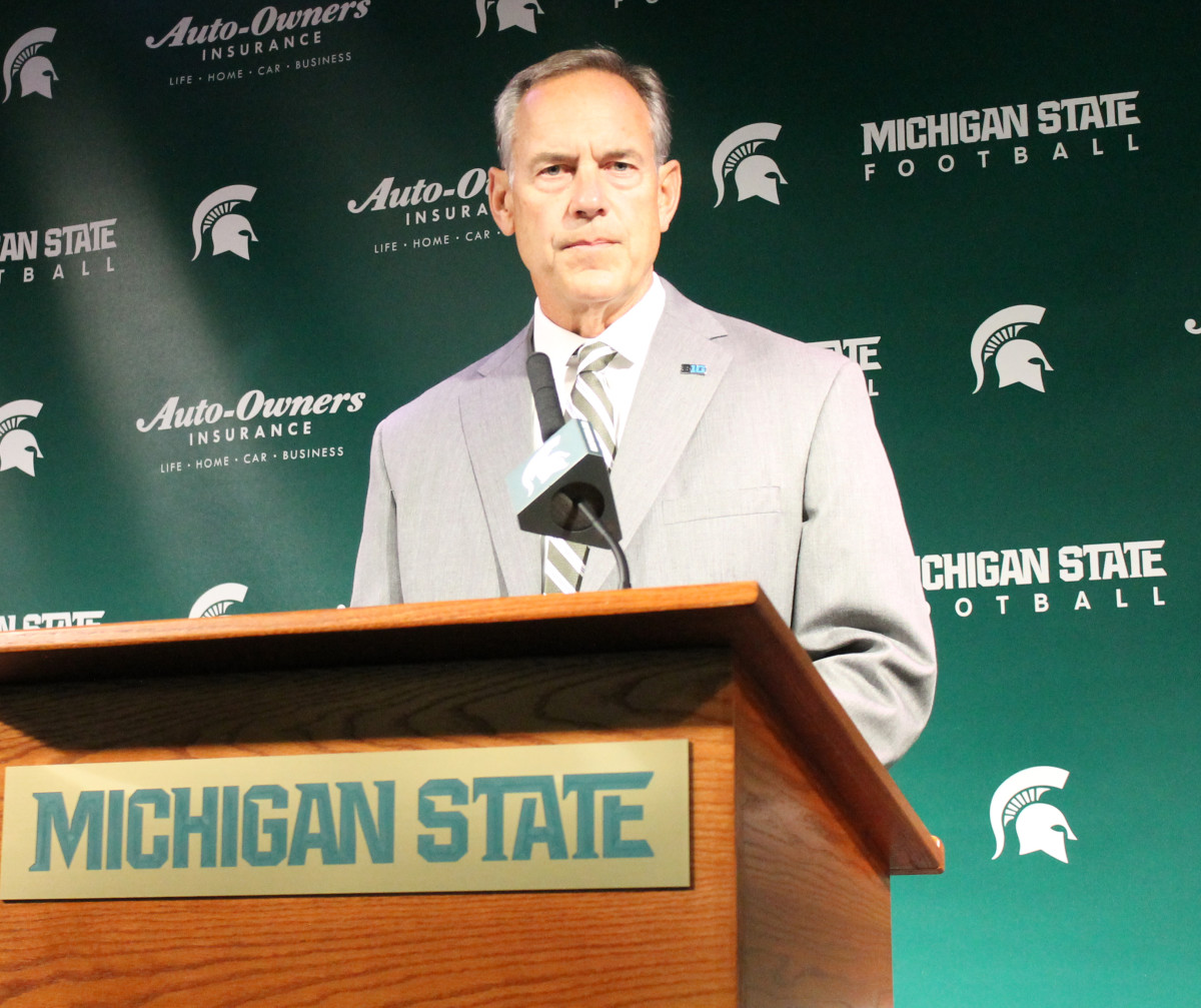 Great Video:  Part 1 & 2 MSU Coach Mark Dantonio Talks Furman & More as Game 1 On The Horizon for Friday!