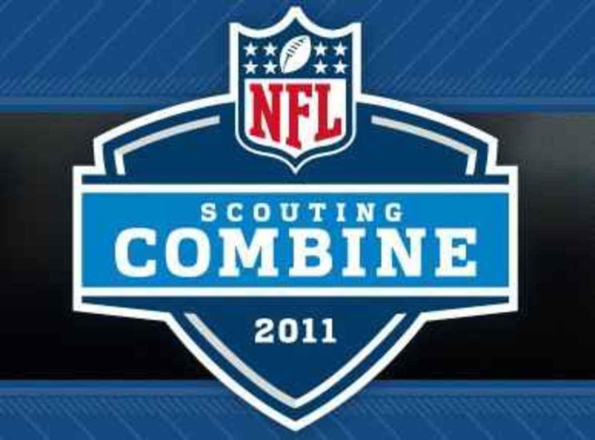 Mark Dell, Charlie Gantt, Greg Jones and Chris L. Rucker attempt to improve their stock for the upcoming NFL Draft.