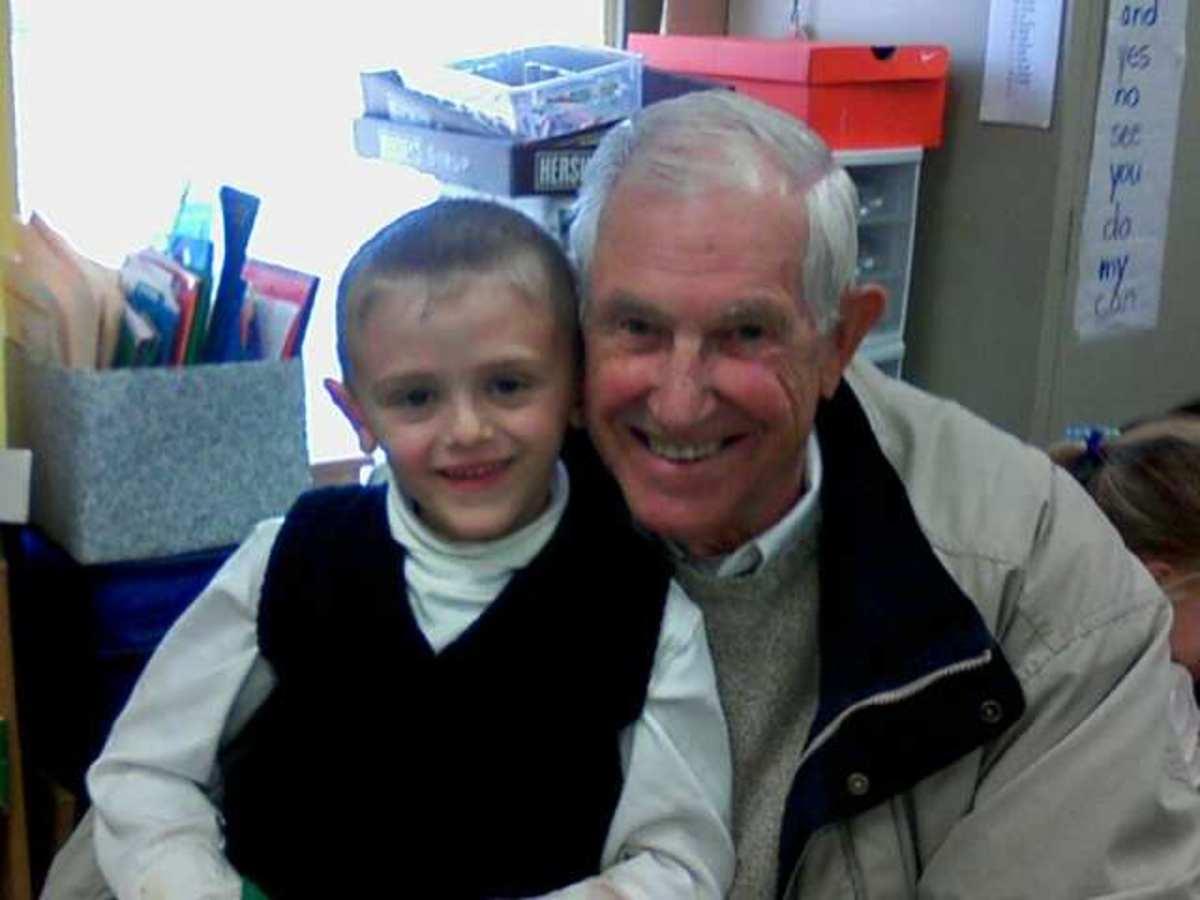My hero and one of my great children, Duffy.