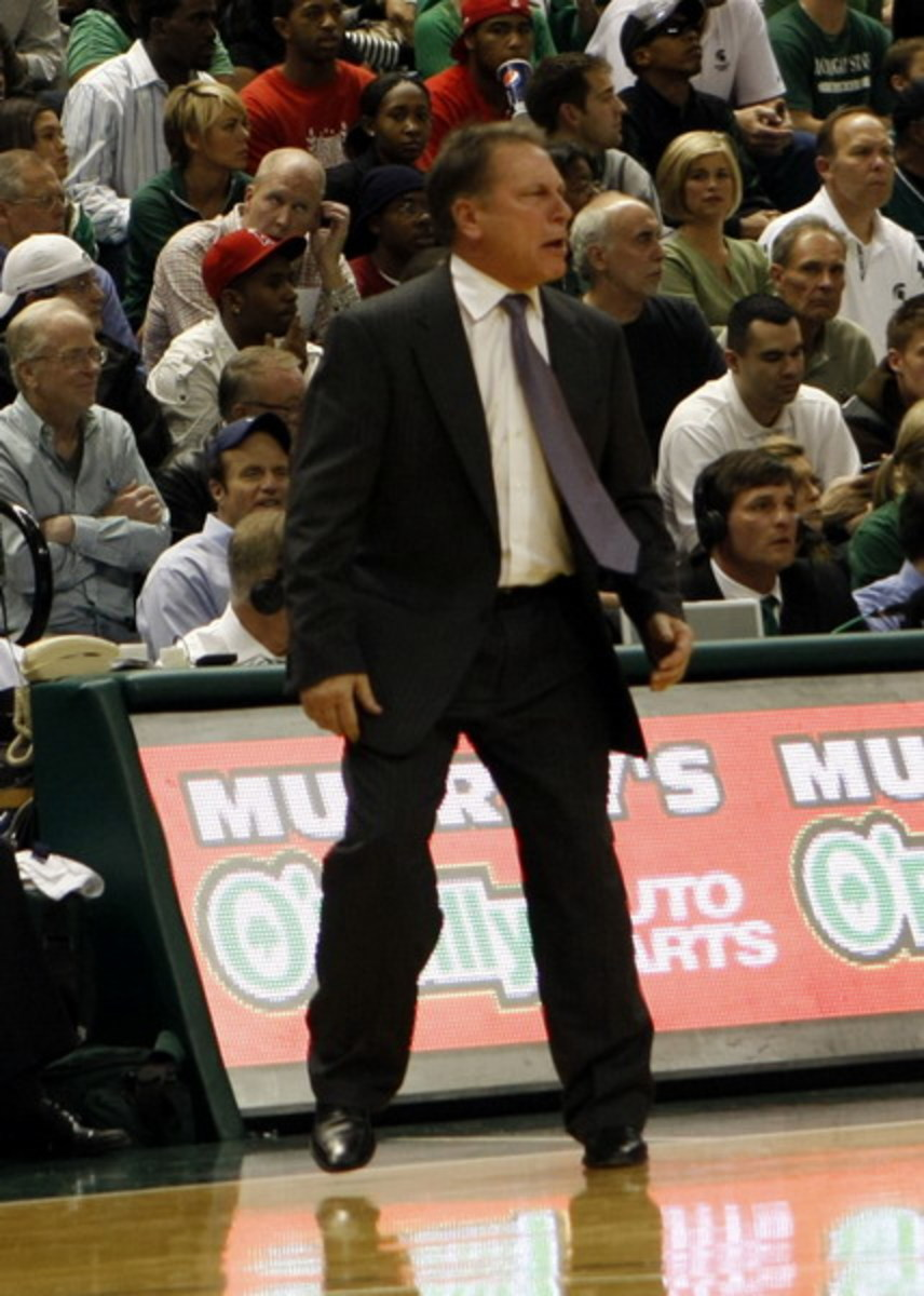 Tom Izzo's Decision to Stay at MSU has Proven a Great Choice on the Recruiting Trail.  Photo courtesy of Starr Portice.