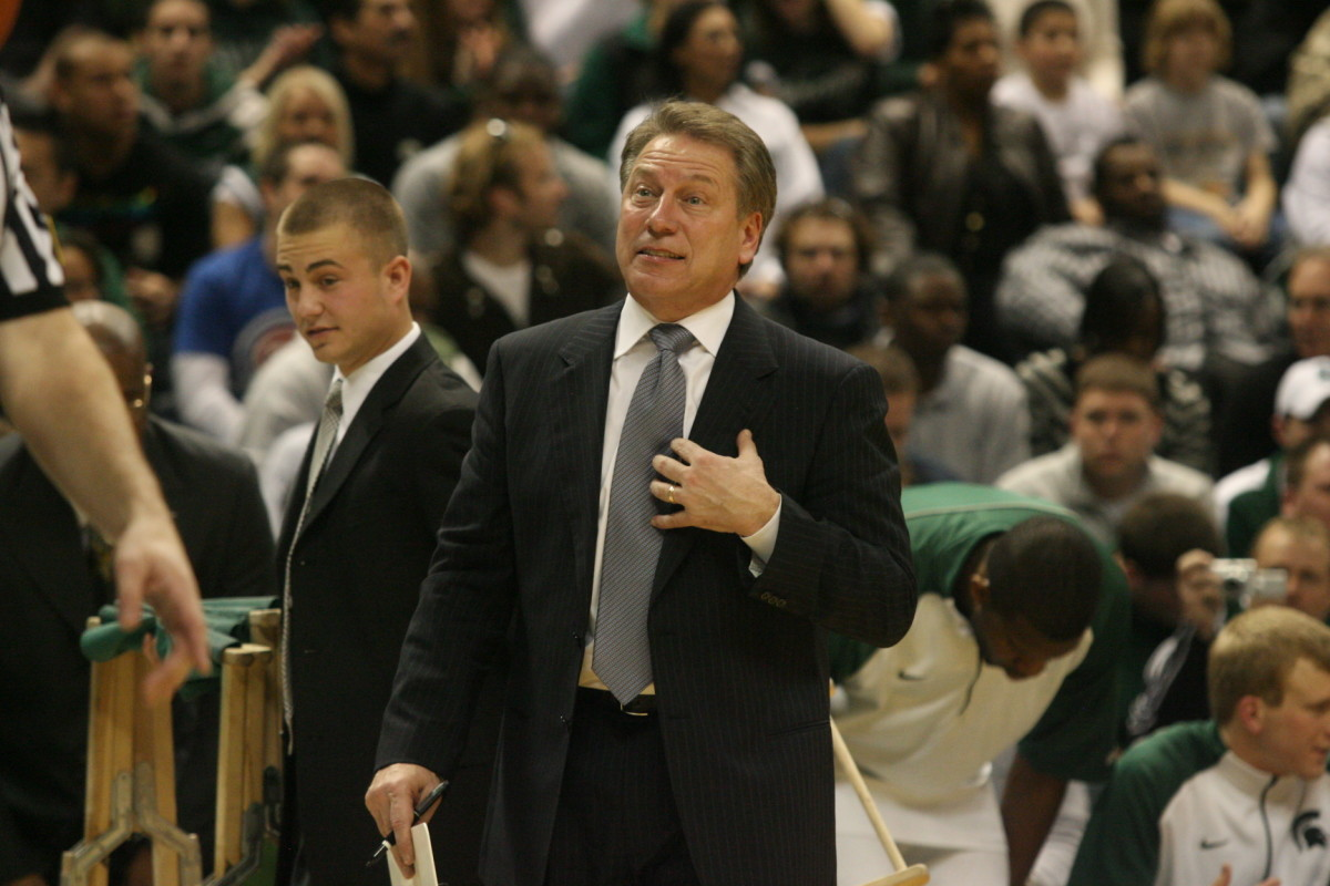 Can Tom Izzo Lead His Spartans to His Second National Title?  Photo Courtesy of Bill Marklevits.