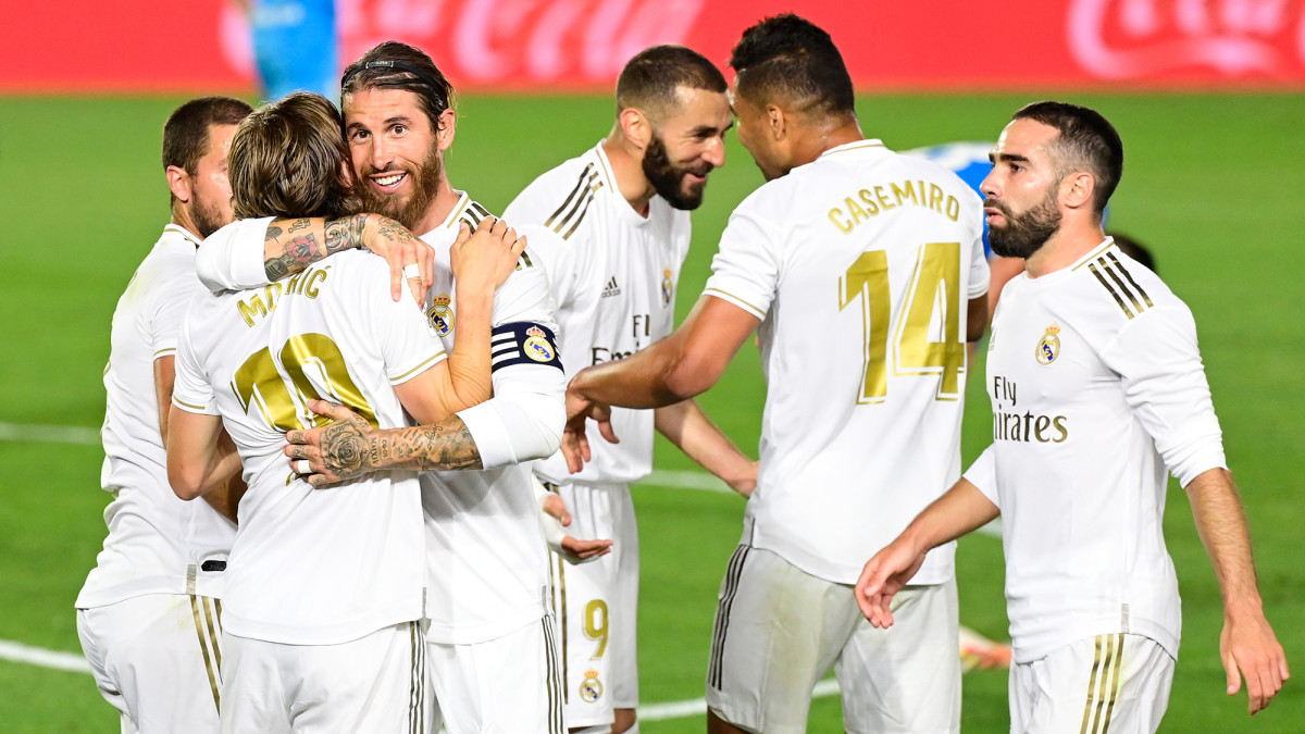 Real Madrid wins La Liga's title