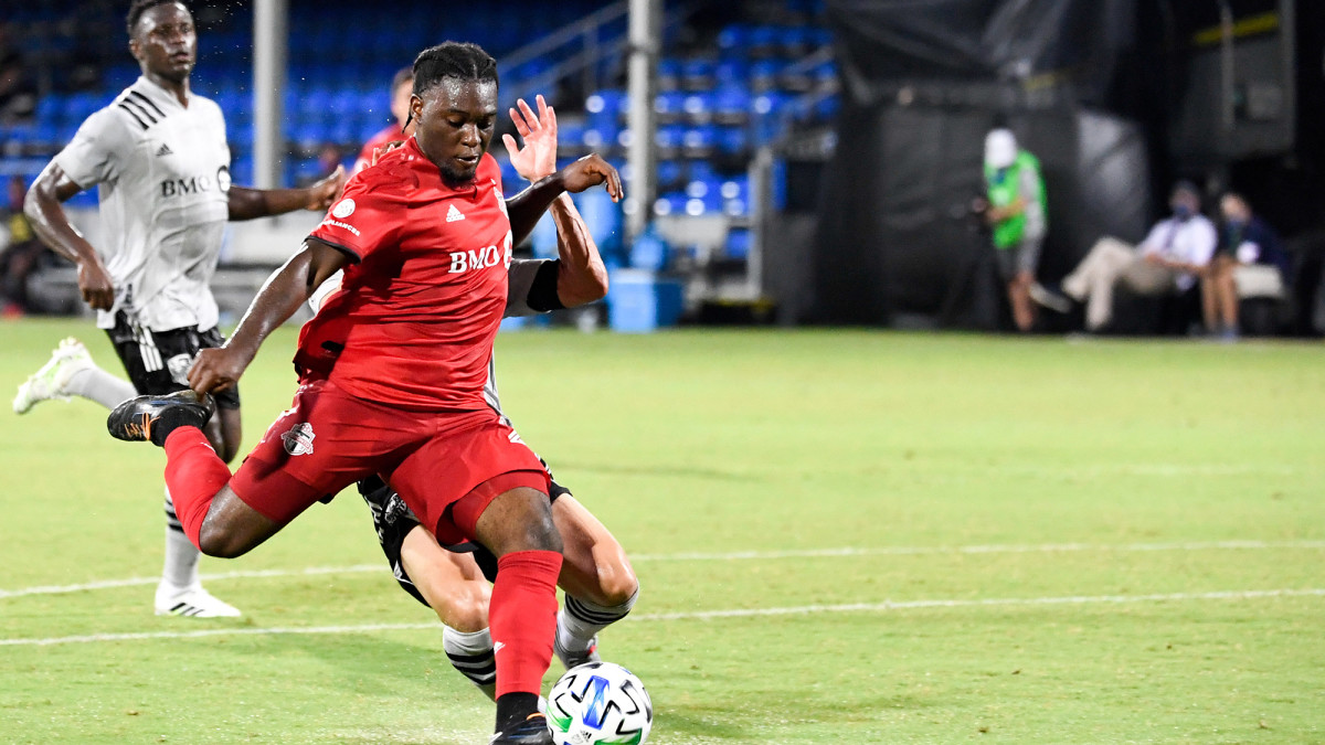 Ayo Akinola has five goals at the MLS Is Back tournament