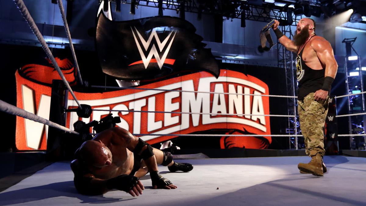 Braun Strowman wrestlemania