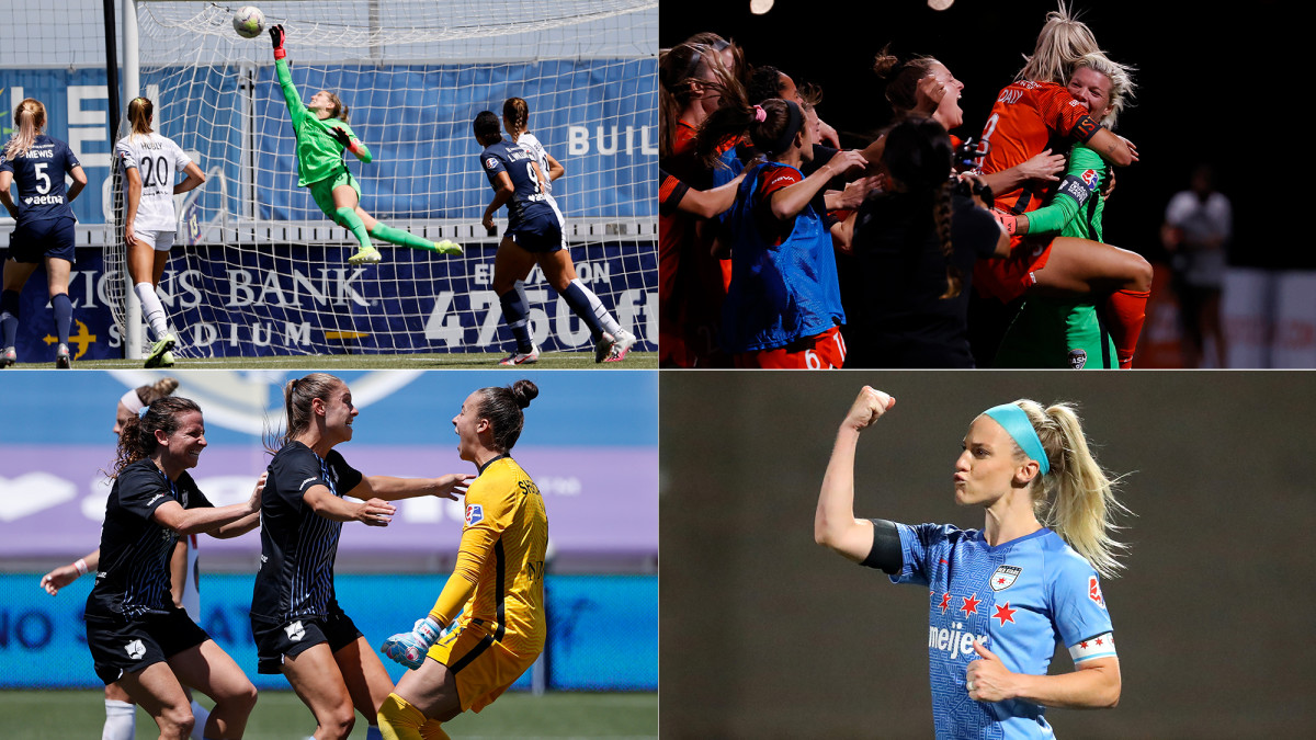 The NWSL Challenge Cup semifinals are set