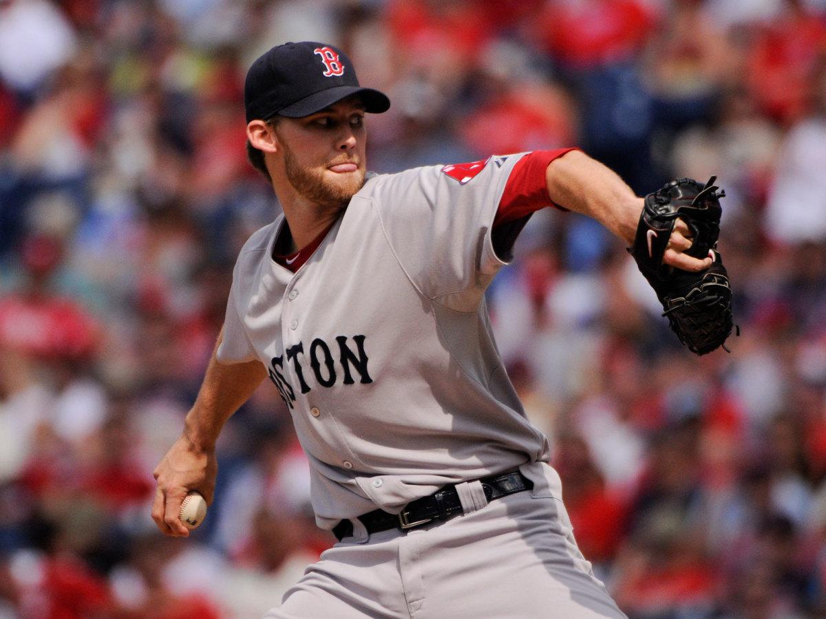 Daniel Bard pitching