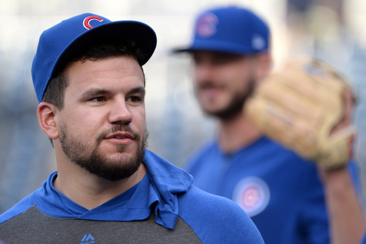 Kyle Schwarber will likely be the designated hitter for the Cubs this season. (USA TODAY Sports)