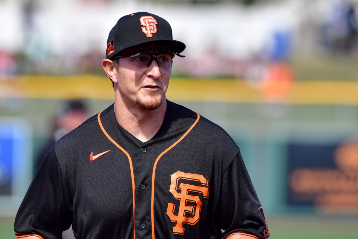 Alex Dickerson has found a home with the San Francisco Giants. (USA TODAY Sports)