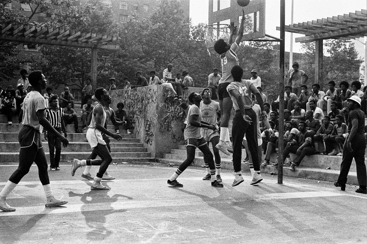 Fly, crashing the boards at the Hole in the 1970s.