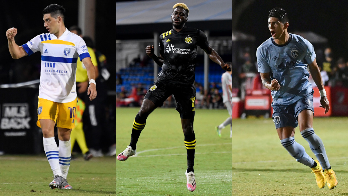 San Jose, Columbus and Kansas City have looked sharp at MLS Is Back