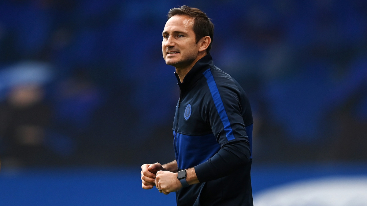 Frank Lampard coached Chelsea to the Champions League