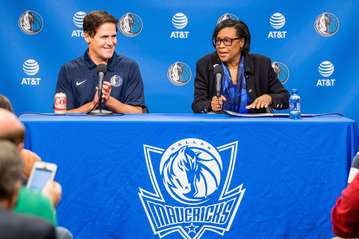 Vowing to clean up his organization's culture, in February 2018, Cuban introduced Marshall as the new Mavericks' CEO.