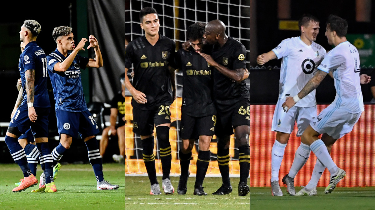 NYCFC, LAFC and Minnesota United are on to the MLS Is Back quarterfinals