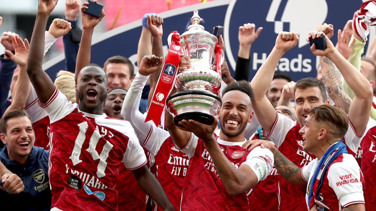 Arsenal won the FA Cup
