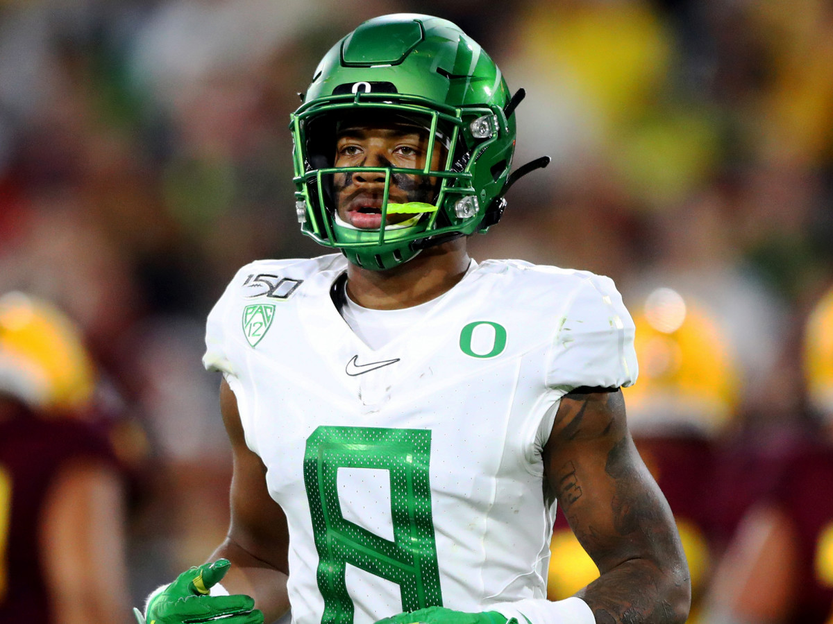 Oregon Ducks safety Jevon Holland is among the group of Pac-12 football players who are prepared to sit out the 2020 season due to health and safety, racial injustice and economic inequality concerns.