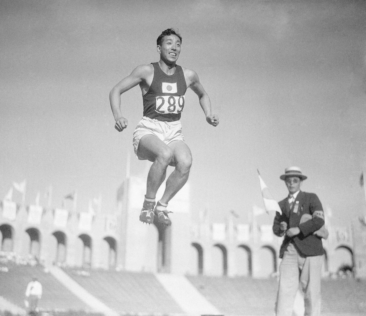 Japan's haul in L.A., at the 1932 Summer Games: 18 total medals (fifth-best in the world), including gold in the triple jump for Chuhei Nambu.