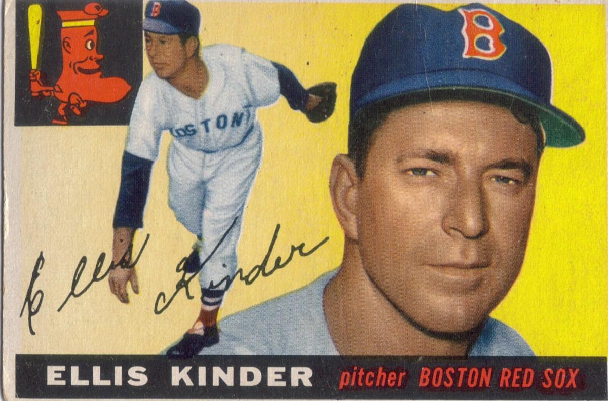 Image result for Ellis Kinder, American baseball player