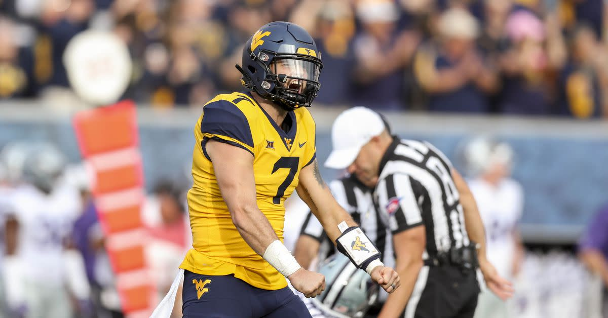 Image result for west virginia football