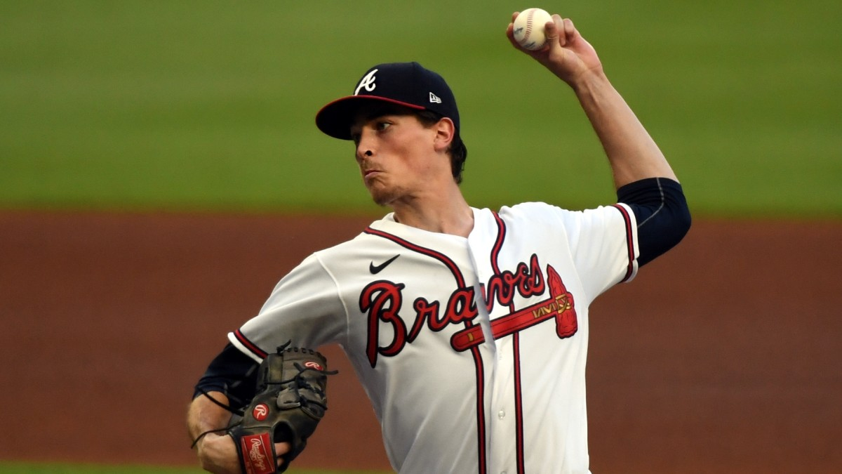Max Fried pitches against the Blue Jays
