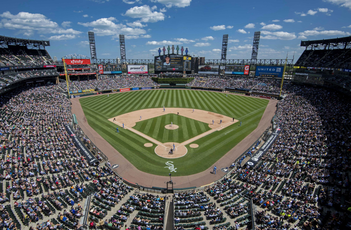 General view of Guaranteed Rate Field
