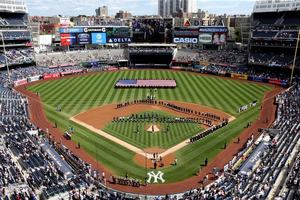 General view of Yankee Stadium