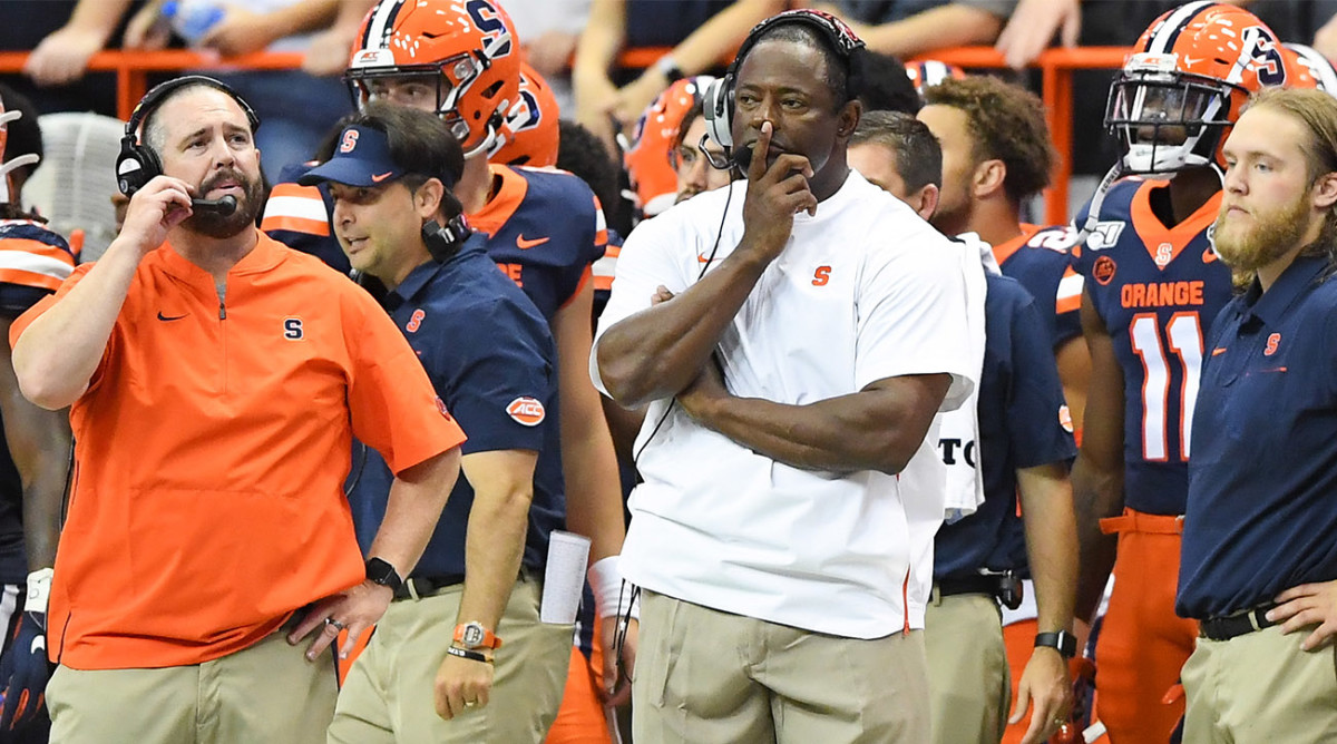 Report: Syracuse Football Players Sit Out First Practice, Cite COVID-19 Concerns