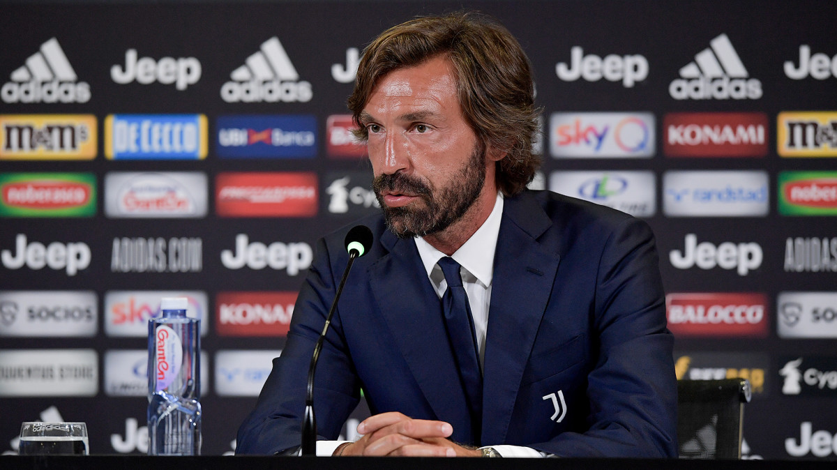 Andrea Pirlo is Juventus's new manager