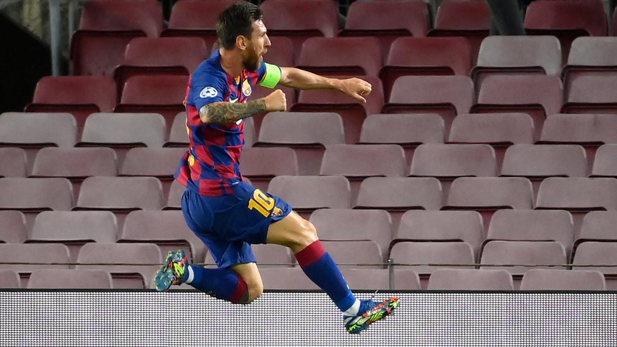 Watch: Lionel Messi Scores Outrageous Champions League Goal vs. Napoli