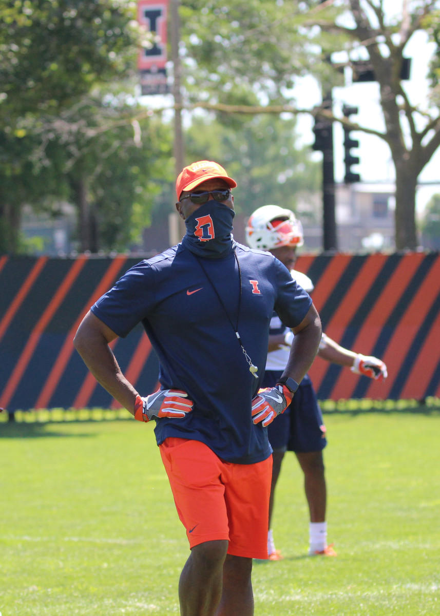 Illinois head coach Lovie Smith will have his team back on the practice fields on Aug. 31 as the football program wait for the Big Ten Conference to announce a potential winter or spring season.