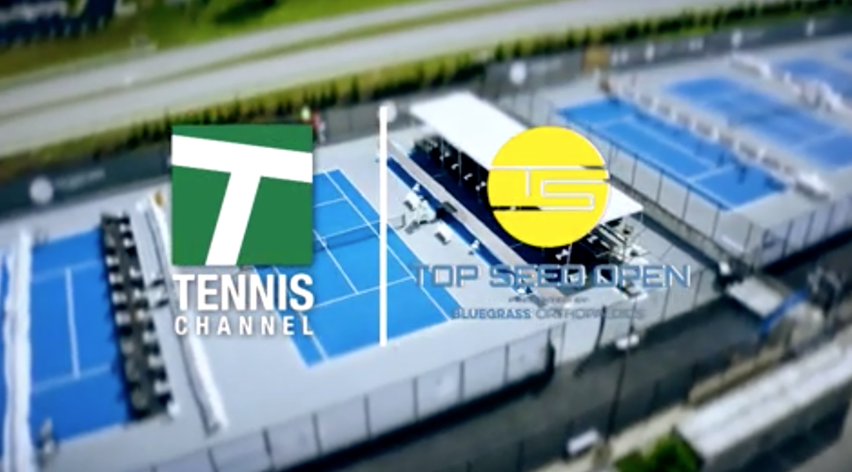 Tennis Channel Coverage of Top Seed Open