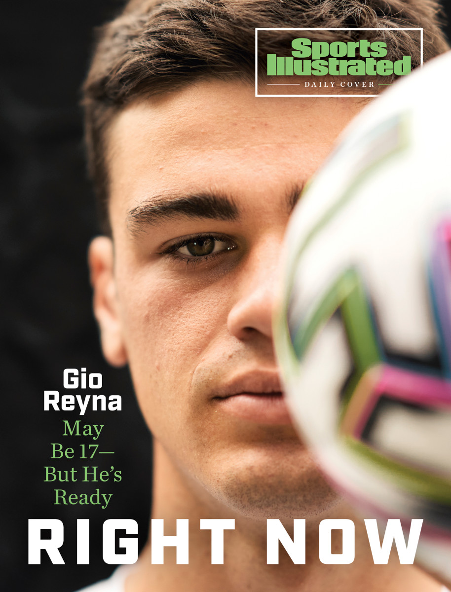 Gio Reyna is a rising star for the USA and Borussia Dortmund