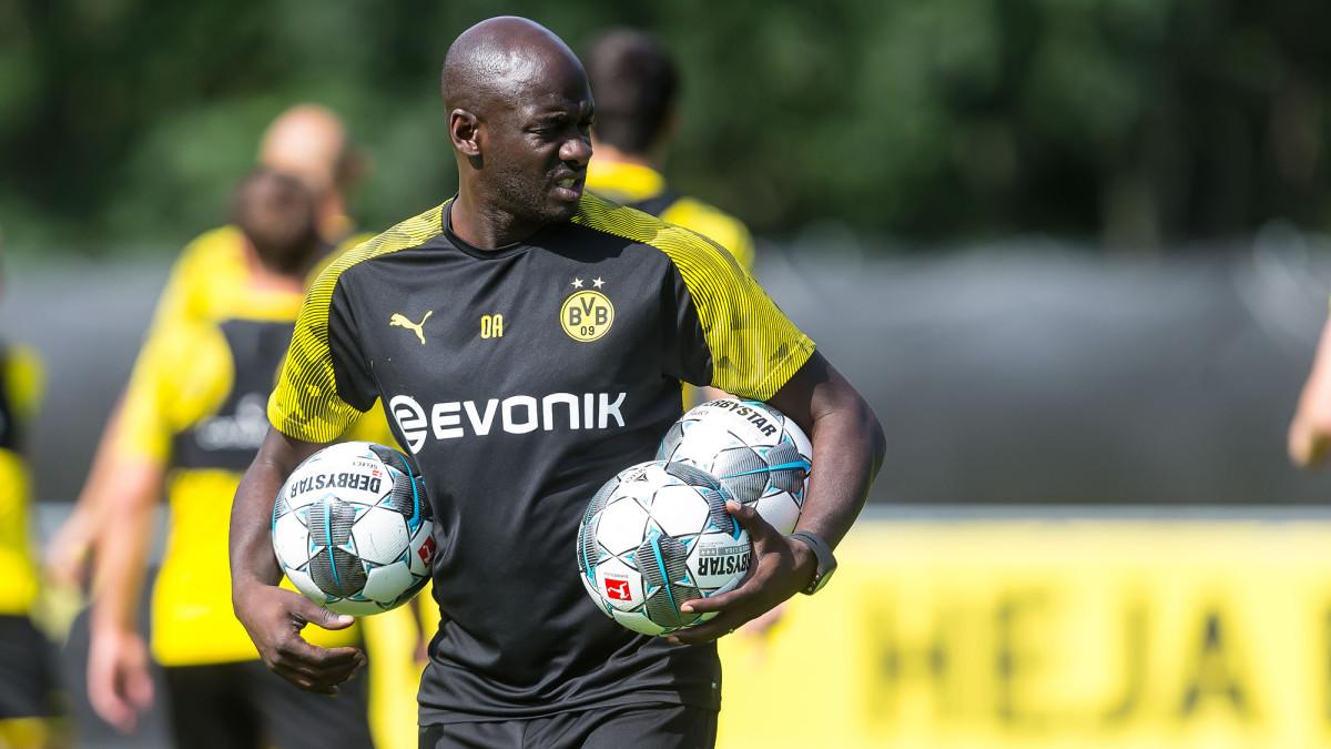 Dortmund assistant coach Otto Addo