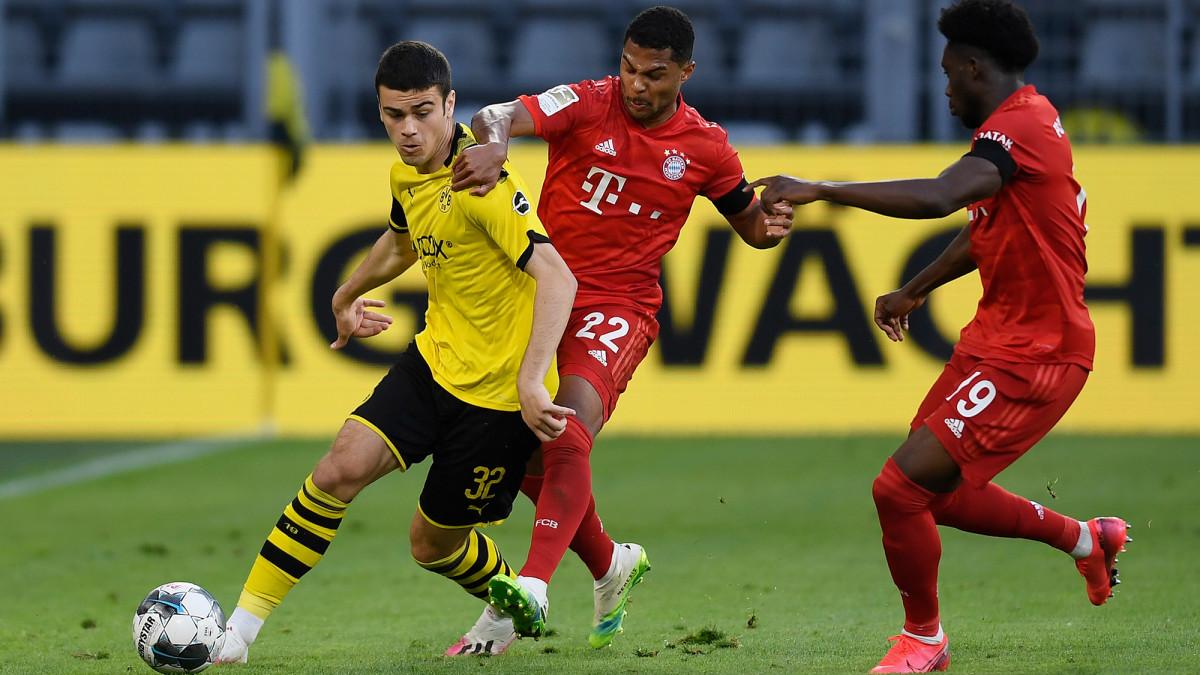Gio Reyna faces Bayern Munich