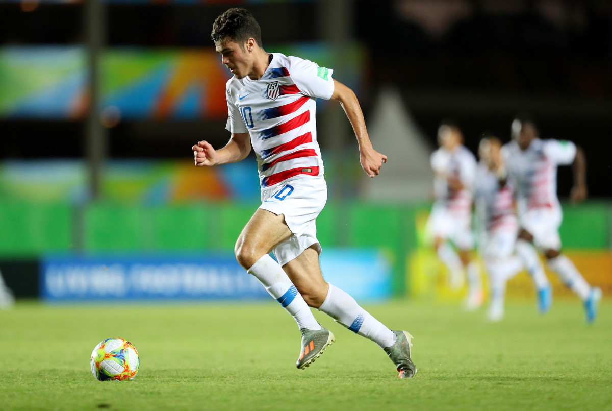 Gio Reyna seeks his first USMNT cap