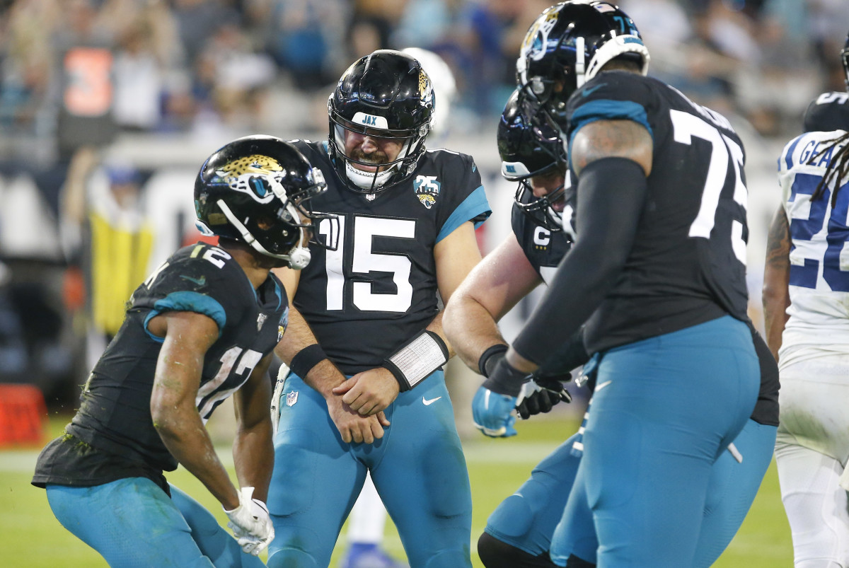 The Jaguars finished 2-1 once Minshew was put back in the starting role.Mandatory Credit: Reinhold Matay-USA TODAY Sports