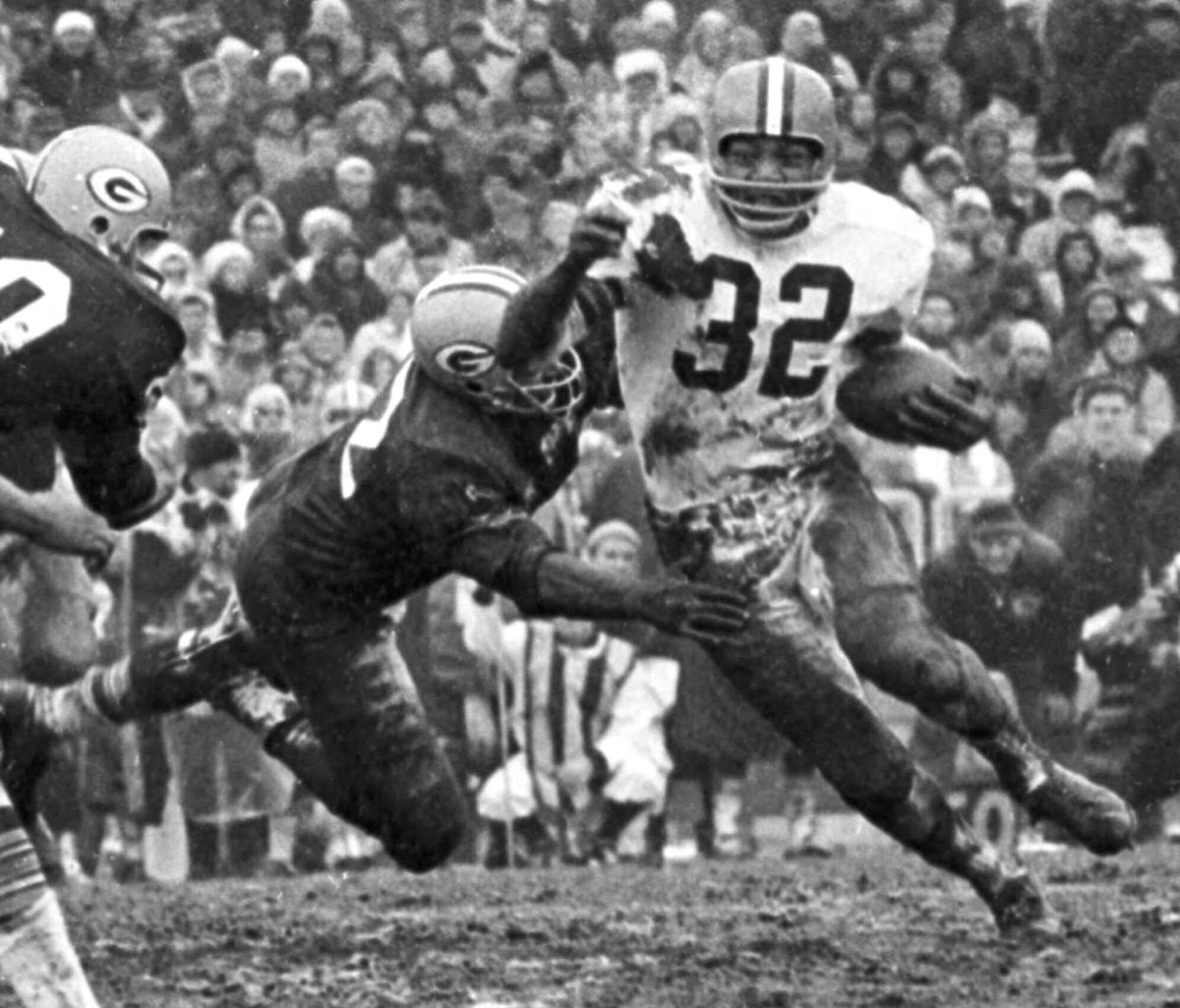 Jim Brown is the not only the greatest running back in Browns history, he's also the greatest running back in NFL history.