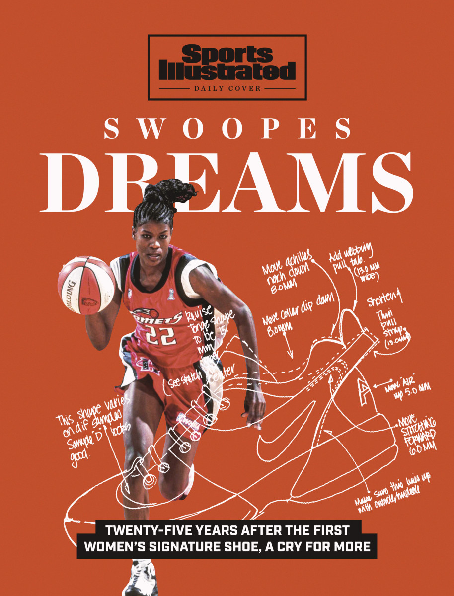 Swoopes Dreams: twenty-five years after the first women's signature shoe, a cry for more