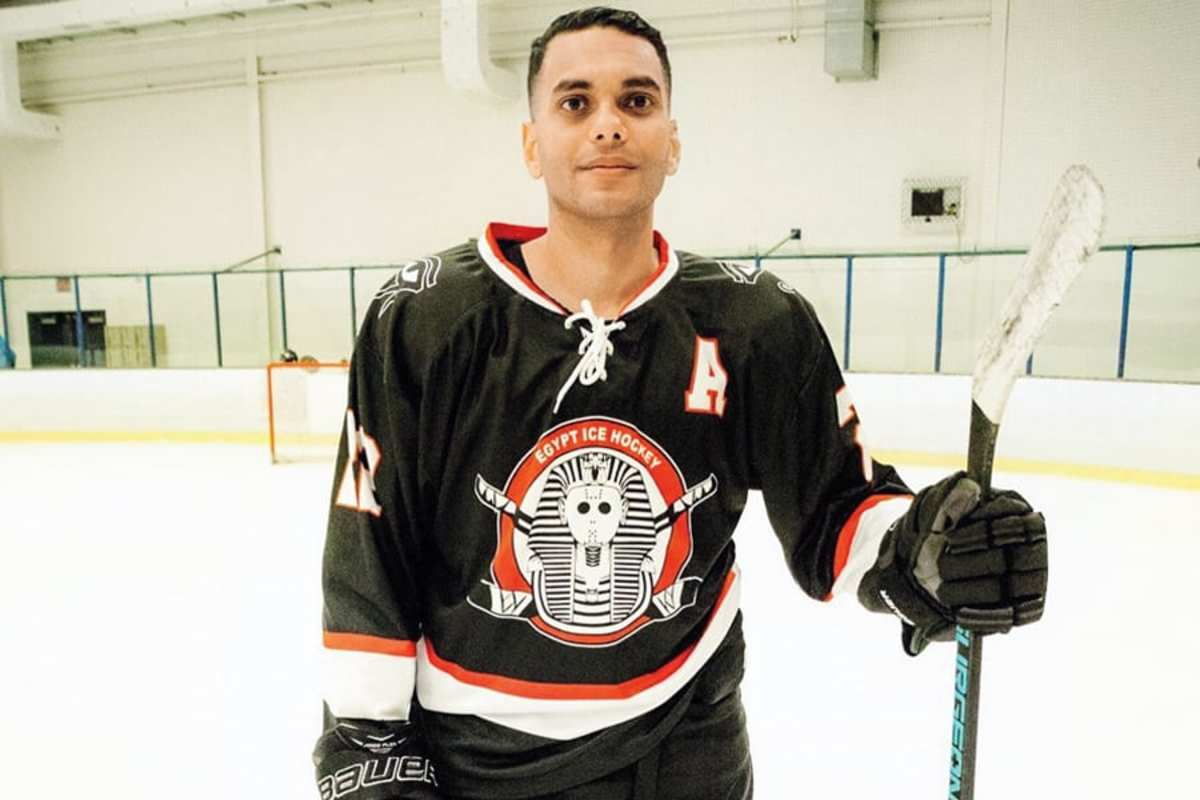 Sameh Ramadan | Courtesy of Egypt Ice Hockey