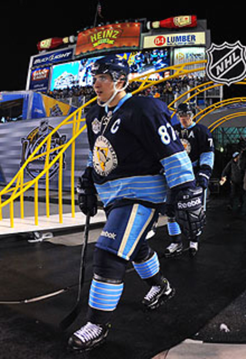 Last year's Winter Classic was the beginning of the end for Sidney Crosby in 2011.