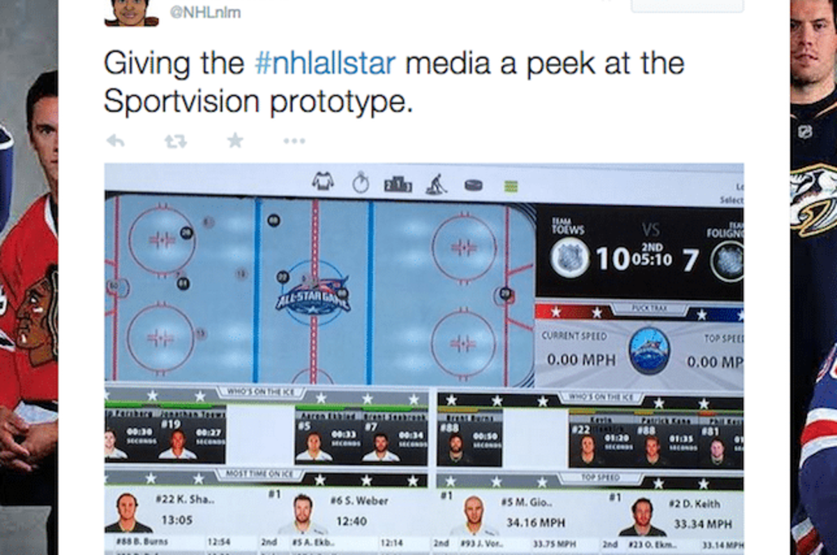 The NHL's new player tracking system (image via twitter.com/nhlnlm)