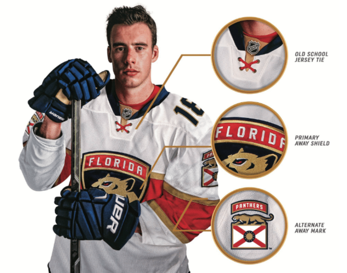 online store 0531e 02f6b Panthers unveil new logo and jerseys to signal 'new ...