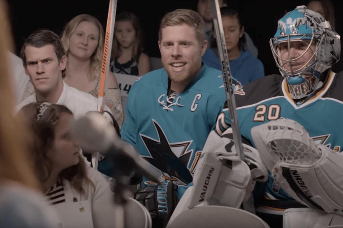 San Jose Sharks/YouTube