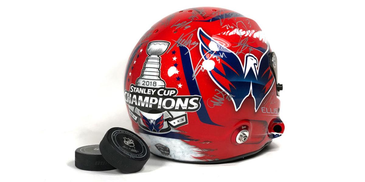 Ryan Ellis' Road America helmet. (Russian Machine Never Breaks)