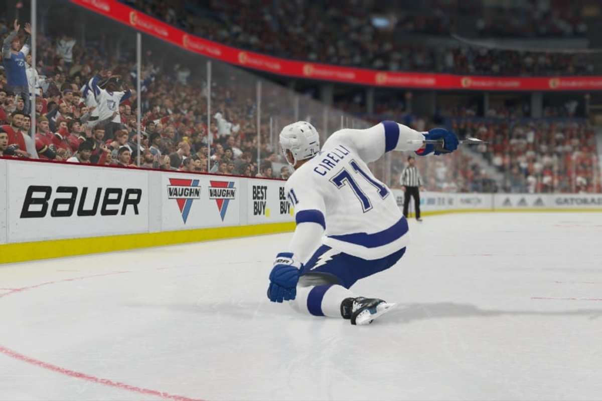 Cirelli scores TBL NHL20 featured