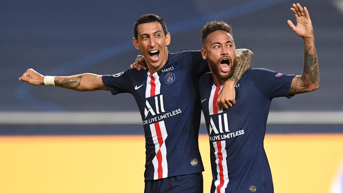 Angel Di Maria and Neymar help PSG reach the Champions League final