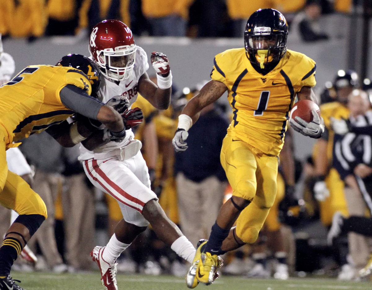 Tavon Austin ran for 344 yards against Oklahoma in 2012.