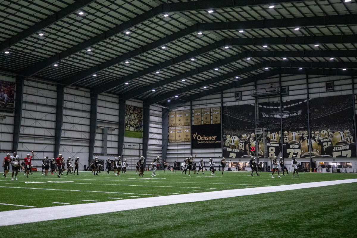 New Orleans Saints, Training Camp