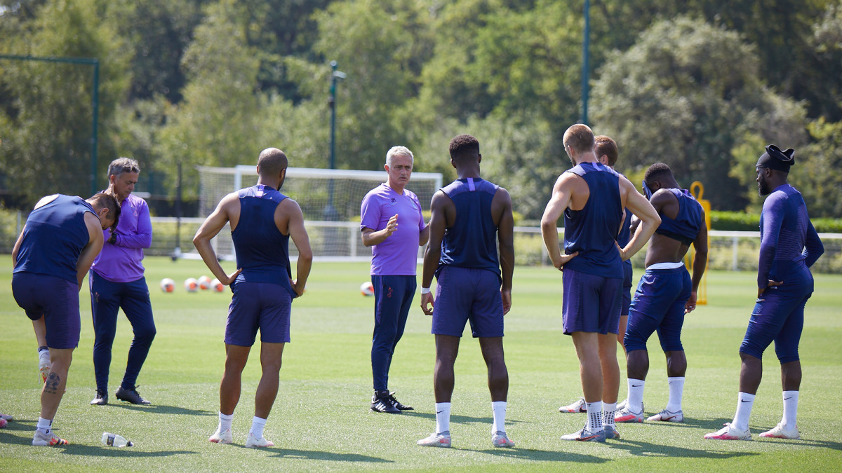 Jose Mourinho and Tottenham are featured in 'All or Nothing'